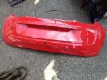2012 VOLKSWAGEN UP 3 DOOR REAR BUMPER RED TORN Y3D 1S6807421